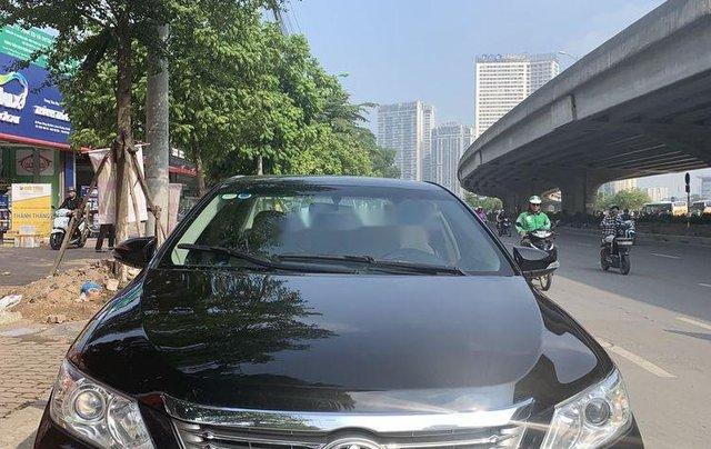 Bán xe Toyota Camry 2013, màu đen0