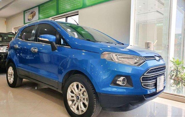 Cần bán Ford EcoSport năm 2016, màu xanh lam còn mới1