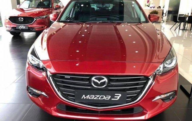 Bán Mazda 3 sản xuất 2019, màu đỏ0
