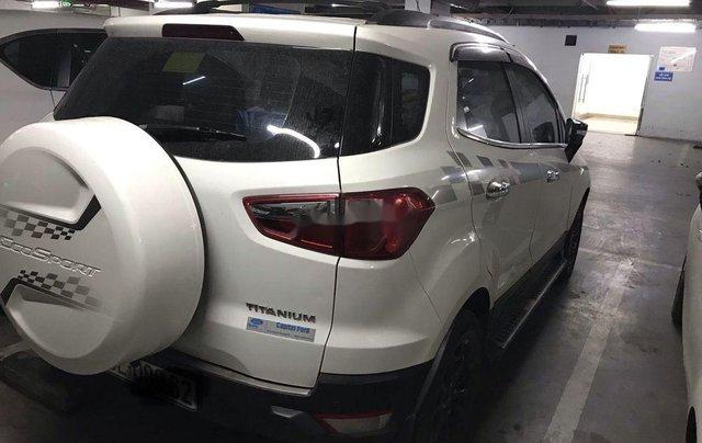 Cần bán gấp Ford EcoSport đời 2016, màu trắng còn mới, giá 520tr4