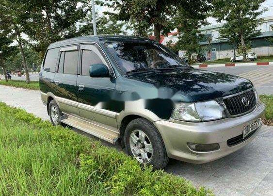 Cần bán Toyota Zace đời 2004, màu xanh lục còn mới, giá tốt0