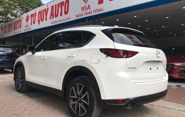 Bán xe Mazda CX 5 sản xuất 2018, màu trắng1