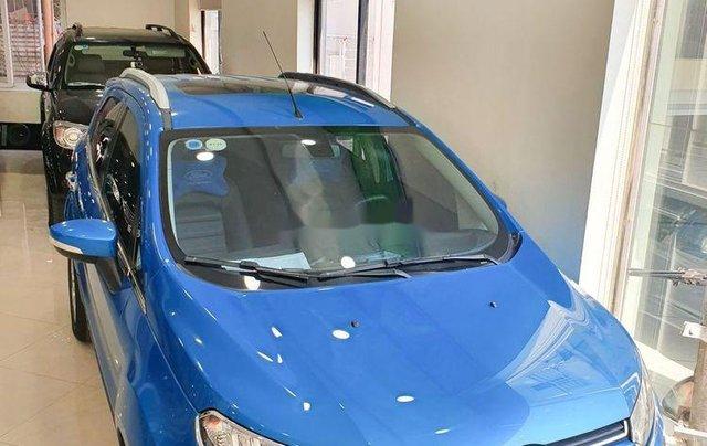 Cần bán Ford EcoSport năm 2016, màu xanh lam còn mới0