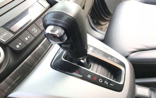 Bán Honda CR V 2.4 AT đời 2013, màu xám, biển TP9