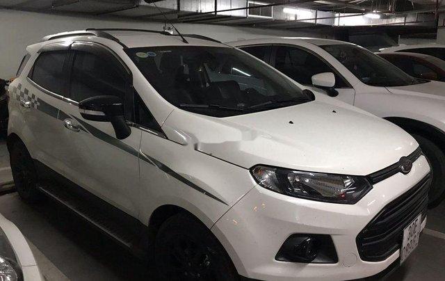 Cần bán gấp Ford EcoSport đời 2016, màu trắng còn mới, giá 520tr1