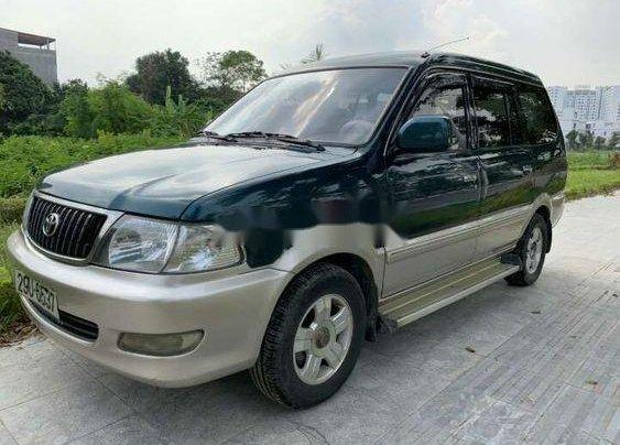 Cần bán Toyota Zace đời 2004, màu xanh lục còn mới, giá tốt1