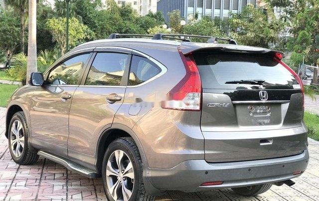 Bán Honda CR V 2.4 AT đời 2013, màu xám, biển TP3