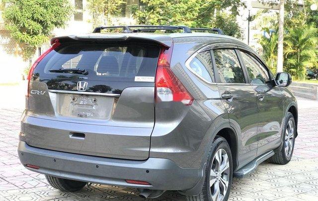 Bán Honda CR V 2.4 AT đời 2013, màu xám, biển TP4
