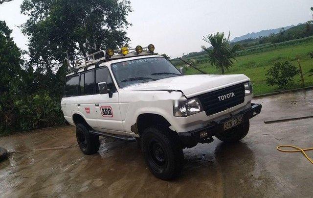 Cần bán xe Toyota Land Cruiser năm 1985, màu trắng1