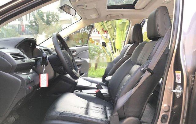 Bán Honda CR V 2.4 AT đời 2013, màu xám, biển TP5