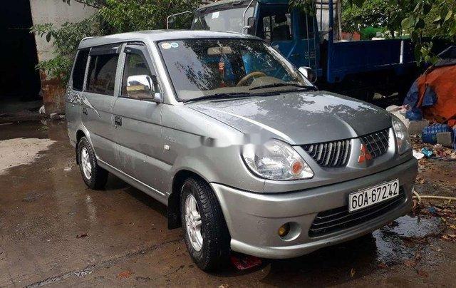 Cần bán gấp Mitsubishi Jolie đời 2004, màu bạc chính chủ, 119tr0