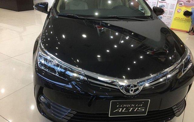 Bán xe Toyota Corolla Altis đời 2019, màu đen, mới 100%1