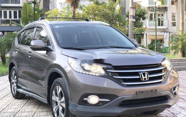 Bán Honda CR V 2.4 AT đời 2013, màu xám, biển TP1