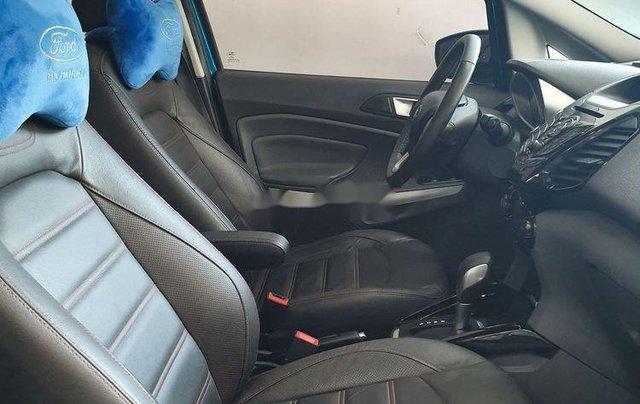 Cần bán Ford EcoSport năm 2016, màu xanh lam còn mới4