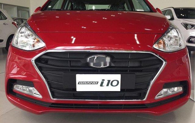Bán Hyundai Grand i10 đời 2019, màu đỏ giao ngay1