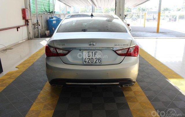 Bán xe Hyundai Sonata 2.0AT 2012, màu bạc, nhập khẩu nguyên chiếc1