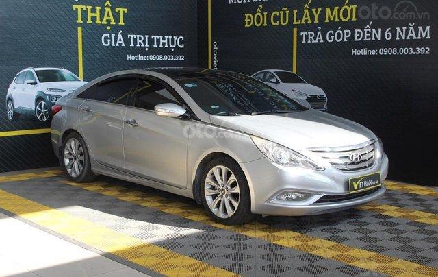 Bán xe Hyundai Sonata 2.0AT 2012, màu bạc, nhập khẩu nguyên chiếc4