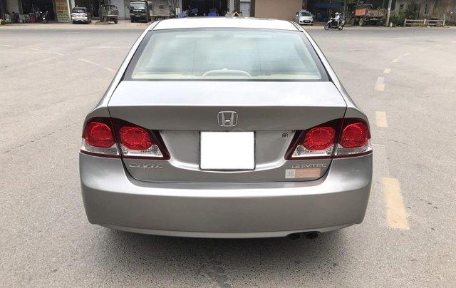 Bán Honda Civic 1.8MT đời 2009, màu xám (ghi), form mới 2010, công nhận mới thật24
