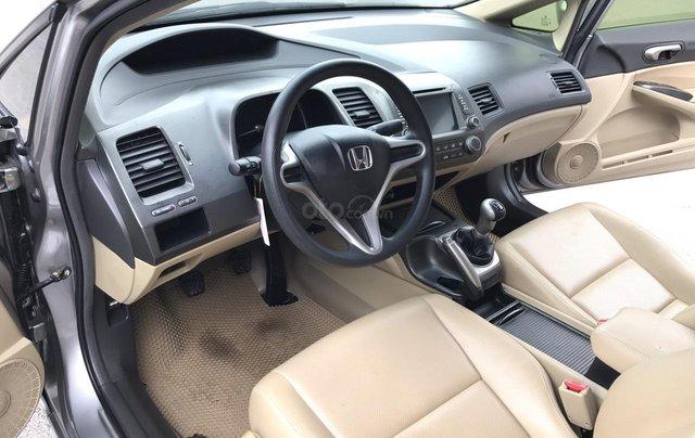 Bán Honda Civic 1.8MT đời 2009, màu xám (ghi), form mới 2010, công nhận mới thật3