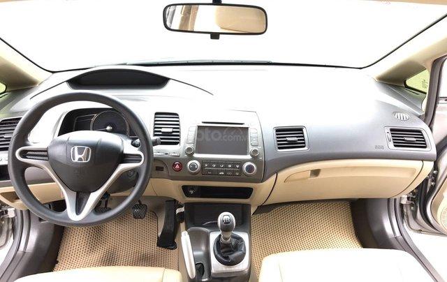 Bán Honda Civic 1.8MT đời 2009, màu xám (ghi), form mới 2010, công nhận mới thật4