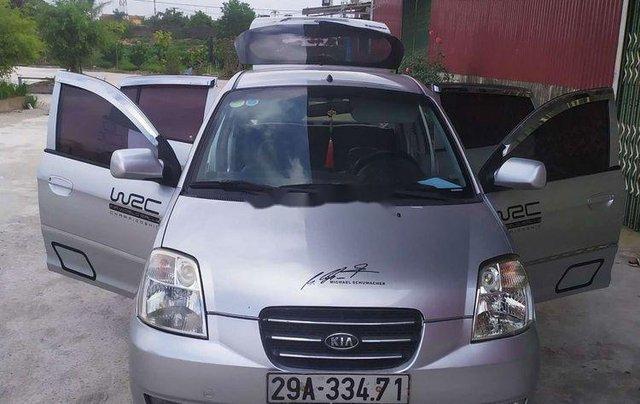 Bán Kia Morning đời 2007, màu bạc, xe nhập còn mới0