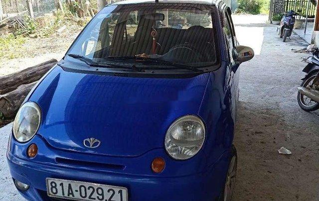 Cần bán xe Daewoo Matiz năm sản xuất 2003, màu xanh lam, giá tốt0