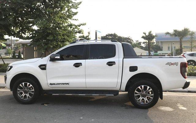Cần bán xe Ford Ranger Wildtrak 3.2 4x4 AT đời 2016, màu trắng, xe chính chủ, nhập khẩu Thái Lan, liên hệ: 09822559661