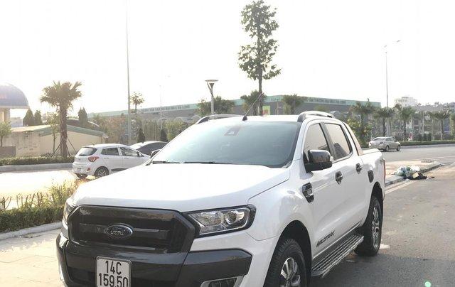 Cần bán xe Ford Ranger Wildtrak 3.2 4x4 AT đời 2016, màu trắng, xe chính chủ, nhập khẩu Thái Lan, liên hệ: 09822559660