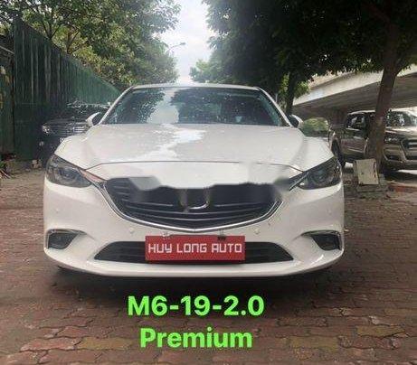 Cần bán lại xe Mazda 6 sản xuất năm 2019, màu trắng0