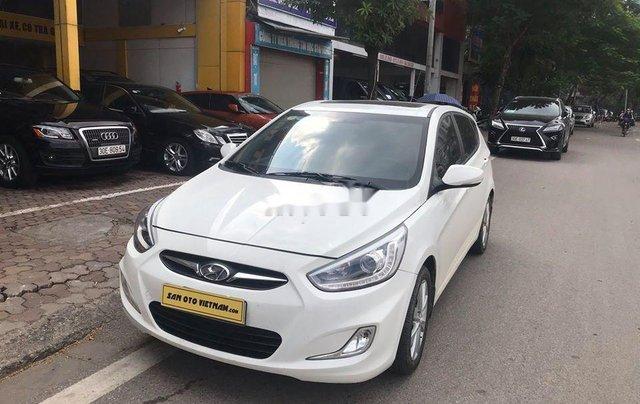 Xe Hyundai Accent sản xuất 2014, màu trắng, nhập khẩu nguyên chiếc còn mới7
