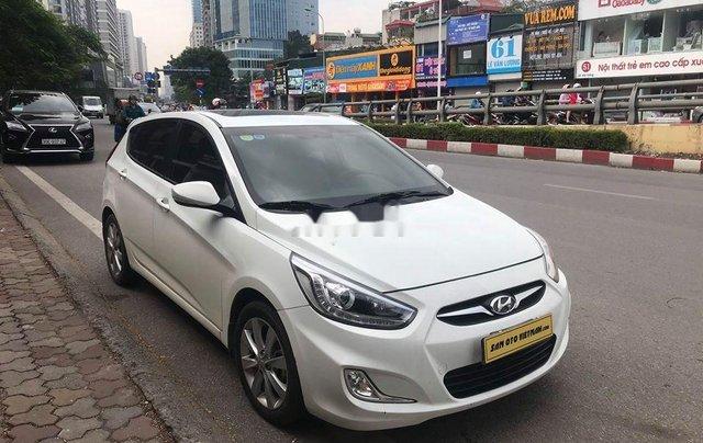 Xe Hyundai Accent sản xuất 2014, màu trắng, nhập khẩu nguyên chiếc còn mới9