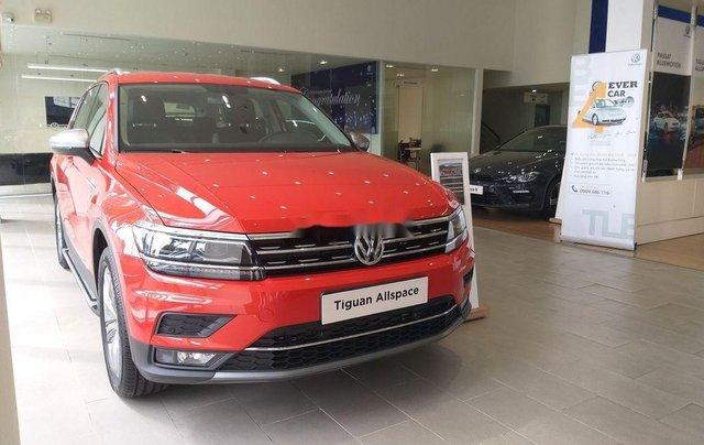 Bán ô tô Volkswagen Tiguan sản xuất năm 2018, màu đỏ, xe nhập2