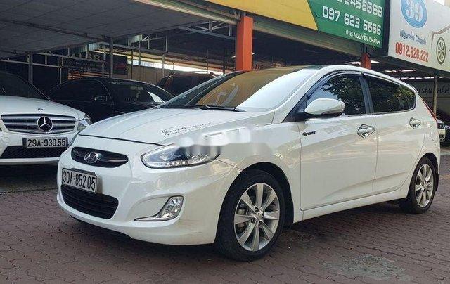 Bán Hyundai Accent năm sản xuất 2015, màu trắng, xe nhập còn mới0