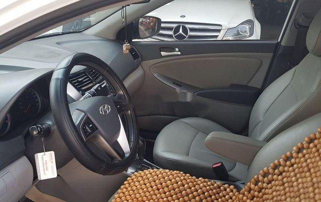 Bán Hyundai Accent năm sản xuất 2015, màu trắng, xe nhập còn mới2
