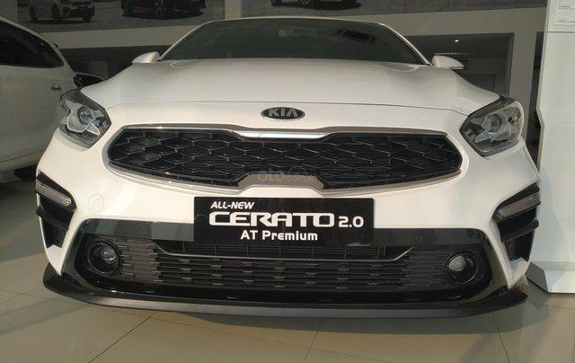 Cerato 2.0AT Premium trắng, xe mới, khuyến mại tháng 11 nhận ưu đãi cực khủng8