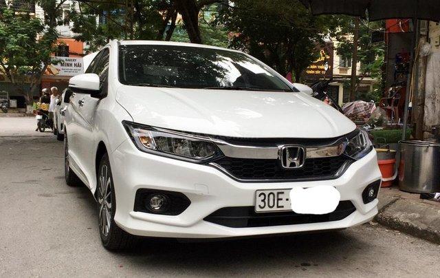 Bán xe Honda City Top CVT đời 2017, màu trắng, giá 530tr0