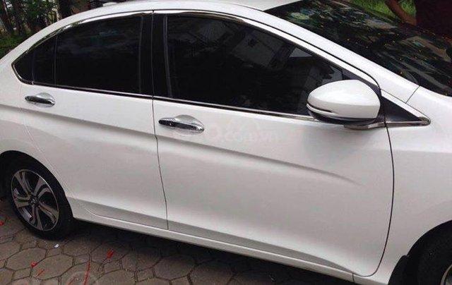 Bán xe Honda City Top CVT đời 2017, màu trắng, giá 530tr1