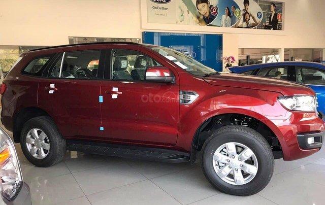 Bán ô tô Ford Everest năm sản xuất 2019, màu đỏ, nhập khẩu nguyên chiếc, giá siêu cạnh tranh0