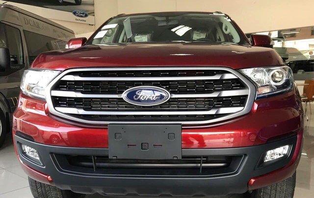 Bán ô tô Ford Everest năm sản xuất 2019, màu đỏ, nhập khẩu nguyên chiếc, giá siêu cạnh tranh1