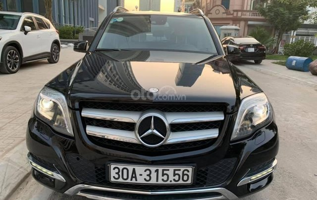 Bán xe Mercedes-Benz GLK Class 250 đời 2015, màu đen, giá tốt0