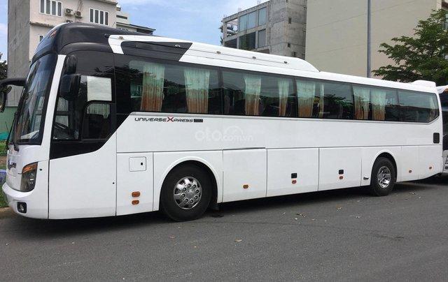 Cần bán xe Hyundai Universe 47 chỗ đời 2008, màu trắng, giá 1,3 tỷ đồng