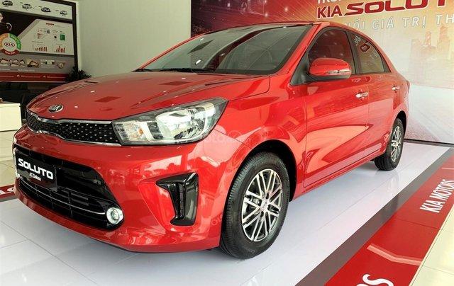 Bán ô tô Kia Soluto sản xuất 2019, màu đỏ, giá 399 triệu5