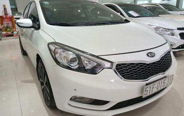 Xe Kia K3 2.0 sản xuất 2014, màu trắng giá 490 triệu2