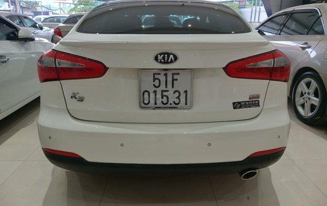Xe Kia K3 2.0 sản xuất 2014, màu trắng giá 490 triệu4