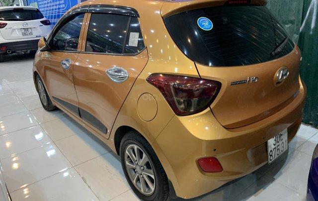 Cần bán Hyundai Grand i10 1.2AT năm 2016, màu cam, nhập khẩu1