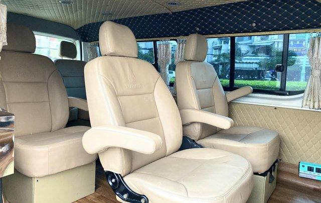 Hiace Limousine 10 chỗ, 2008, máy dầu, rộng rãi, xe nhà xài kĩ không chạy kinh doanh6