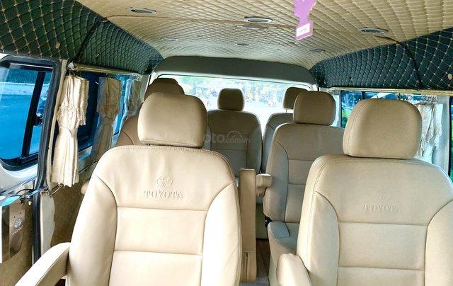 Hiace Limousine 10 chỗ, 2008, máy dầu, rộng rãi, xe nhà xài kĩ không chạy kinh doanh7