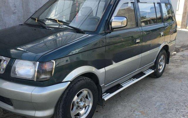 Nhà cần bán xe Mitsubishi Jolie năm sản xuất 1998, màu xanh rêu0
