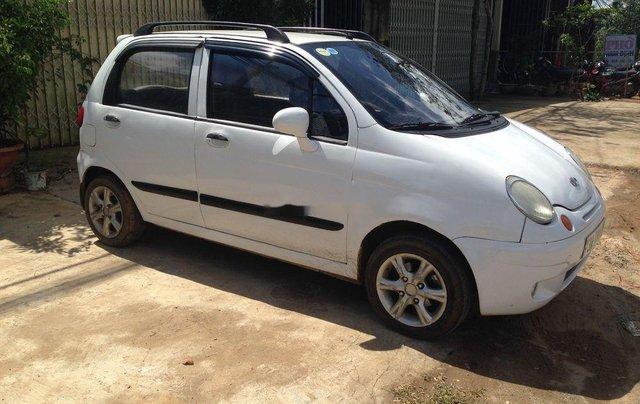 Xe Daewoo Matiz đời 2008, màu trắng còn mới giá cạnh tranh1