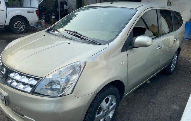 Bán Nissan Livina 2011, màu vàng, xe nhập số tự động, 325tr3